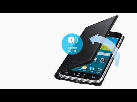 Samsung GALAXY S5 mini - FLIP COVER etui - unboxing