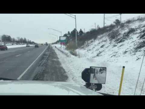 On the Road with an Ohio DOT Snowplow Driver