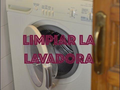 Así Es Cómo Debes Limpiar La Lavadora