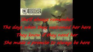 3 Doors Down - She is love / with lyrics