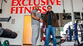 Напольное покрытие LINE-X в фитнес-студии Олега Римера в Павловской Слободе