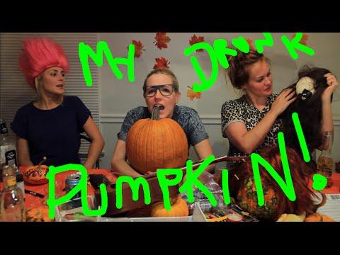MY DRUNK PUMPKIN 2014 (ft. Grace Helbig & Mamrie Hart!)