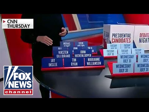 'The Five' reacts to CNN turning Dem debate draw into game show