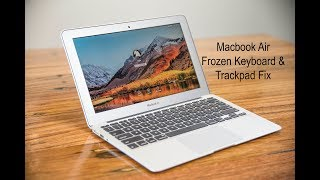 Macbook Frozen Keyboard & Trackpad Fix