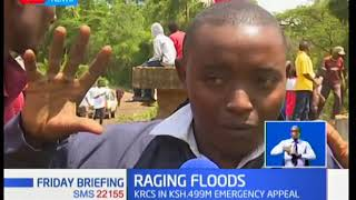 The Kenya red cross  launches an emergency appeal to  assist  people affected by the heavy rains