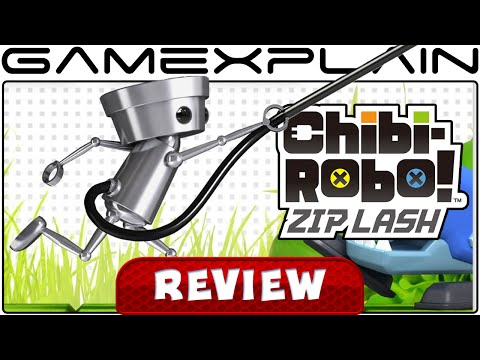 Chibi-Robo! Zip Lash - Video Review - YouTube video thumbnail