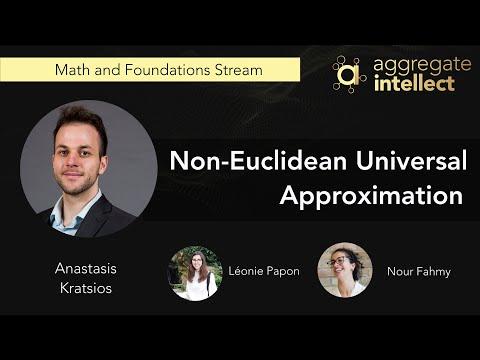 Non-Euclidean Universal Approximation