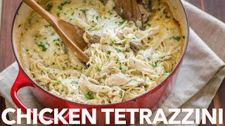 Easy Chicken Tetrazzini Casserole Recipe - Comfort Food for Dinner