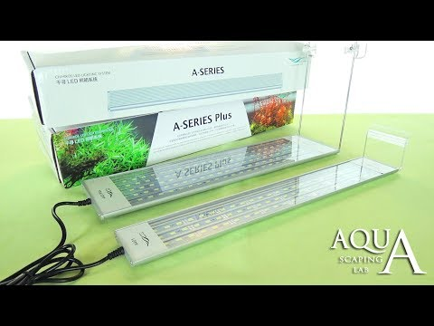 A Series & A Series Plus LED Lamps Chihiros Review and Test by Aquascaping Lab