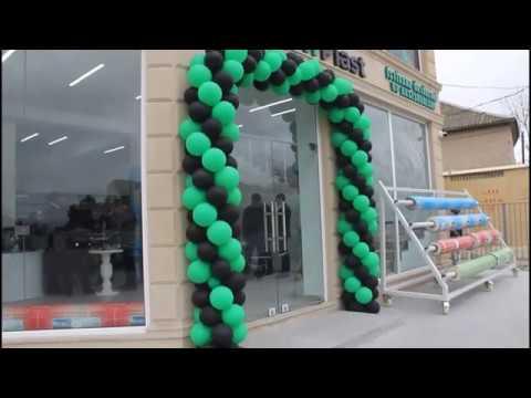 GreenPlast İstixana örtükləri - Maştağa satış mərkəzinin açılışı