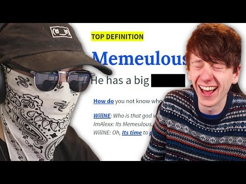 Download Searching our names on Urban Dictionary w/ Memeulous Mp4 HD Video and MP3