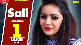 Sali | Miss Haryanvi, Happy RS Antil | Latest Haryanvi Songs Haryanavi 2019 | Sonotek
