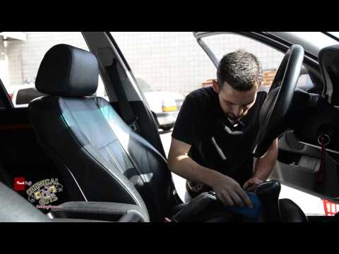 Video How To: Clean & Condition Leather Seats - Chemical Guys Car Care BMW E39 Detailing