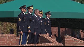 Change of Responsibility Ceremony: Army Chief of staff and sergeant major of the Army