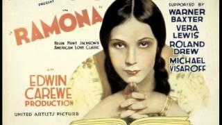 Mexican Film Actress Dolores Del Rio ~ Ramona (1928)