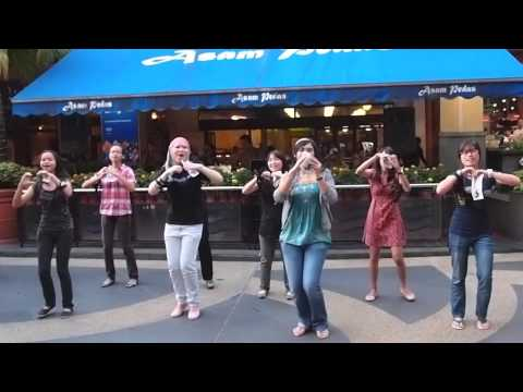 MALAYSIAN FLASH MOB: SOMETHING 'BOUT LOVE