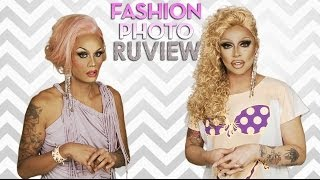 RuPaul's Drag Race Fashion Photo RuView with Raja and Raven - Episode 5