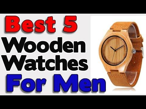 5 Best Wooden Watches for Men