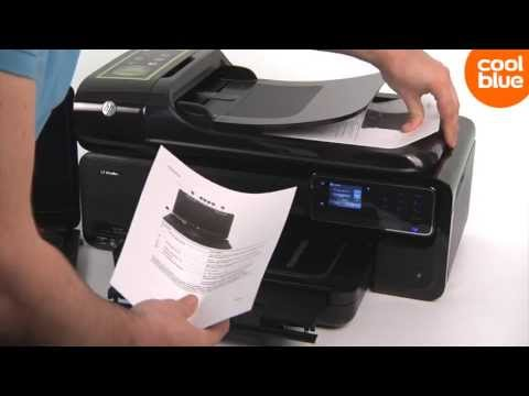 HP Officejet 7500A e-All-In-One videoreview en unboxing (NL/BE)