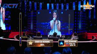 "Hanin Dhiya ""Rindu Setengah Mati"" D'Masiv - Rising Star Indonesia Best Of 5 Eps 23"