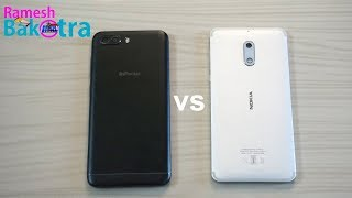 InFocus Turbo 5 Plus vs Nokia 6 Speed Test