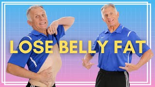 How To Lose Belly Fat In ONE Week At Home With 3 Simple Steps