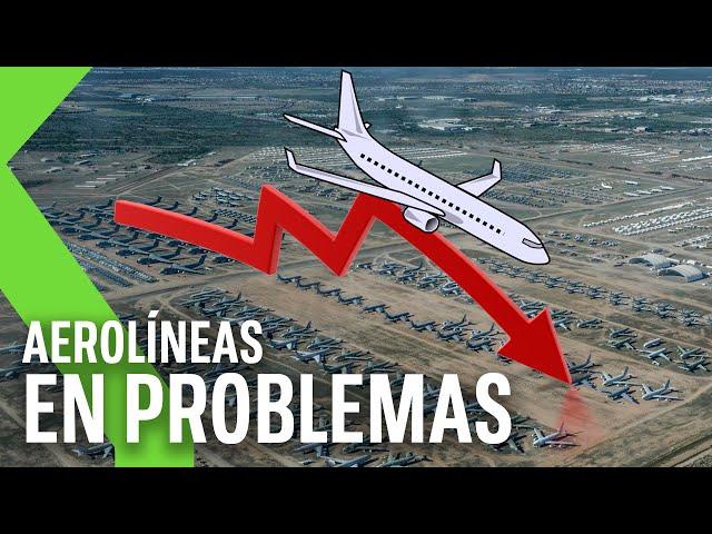 LA TRAGEDIA DEL AVIÓN COMERCIAL: 17.000 aviones sin volar y cómo beneficia al aeropuerto de Teruel