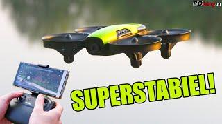 Loolinn U61 Wi-Fi FPV Drone video review (NL)