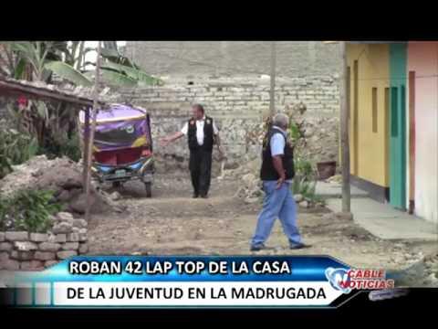 HUARAL 13 MARZO ROBAN LAPTOP CASA DE LA JUVENTUD