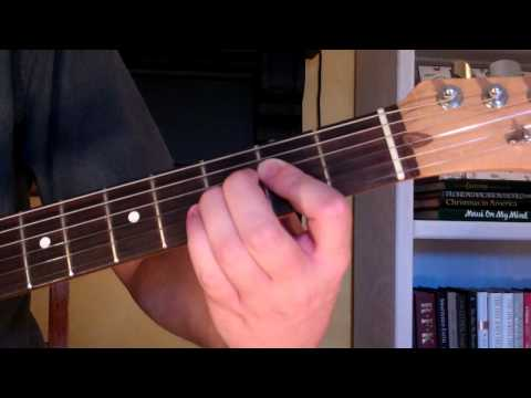 How To Play the C7-9 Chord On Guitar (C 7th minor 9th)