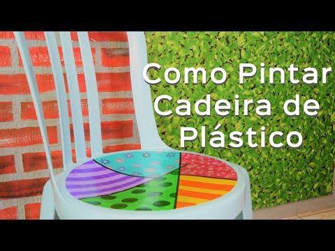 Decorar Cadeira de Plástico