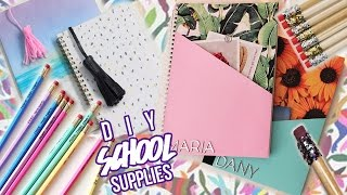 Easy & Cheap DIY School Supplies! You NEED to try!│Mawizaaable
