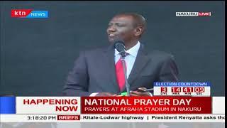 DP Ruto's full speech during the National prayer day in Nakuru