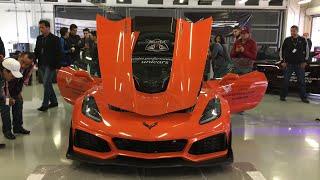 Presentación del Corvette ZR1 en México
