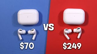 AirPods Pro (Real vs Fake): Can You Spot The Difference? - Worth It?
