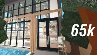 Bloxburg:65k greenhouse cafe