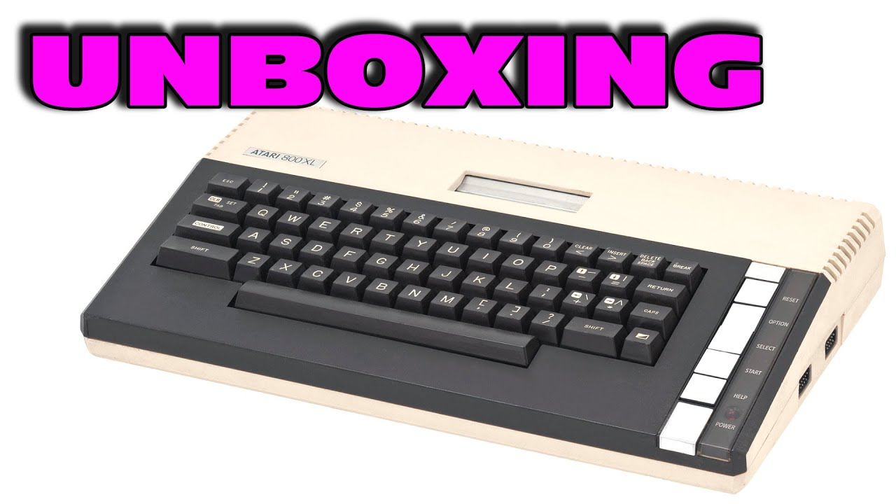 Unboxing An Atari Computer From 1983