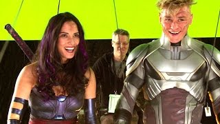 X-MEN APOCALYPSE B-Roll Footage (2016) Jennifer Lawrence Marvel Superhero Movie HD by JoBlo Movie Trailers