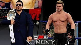 WWE No Mercy 2016: The Miz vs Dolph Ziggler (Intercontinental Championship) [Career vs Title]