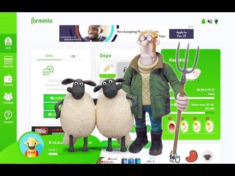 FARMINLA - Yatirimsiz oyun oyna PUL QAZAN !!!