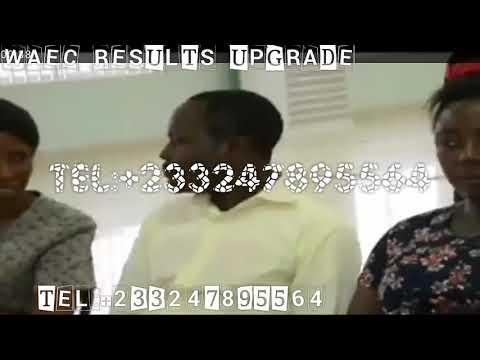 WAEC results upgrade