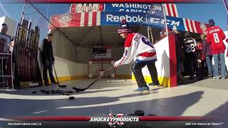 Accuracy Shooting at the 2015 NHL Winter Classic