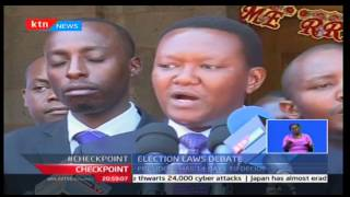 Election Laws Debate: Cord moves to court seeking to block presidential assent