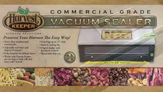 Harvest Keeper Vacuum Sealer