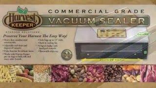 Harvest Keeper Vacuum Sealer