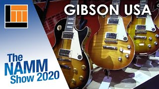 L&M @ NAMM 2020: Gibson USA Original Collection Guitars