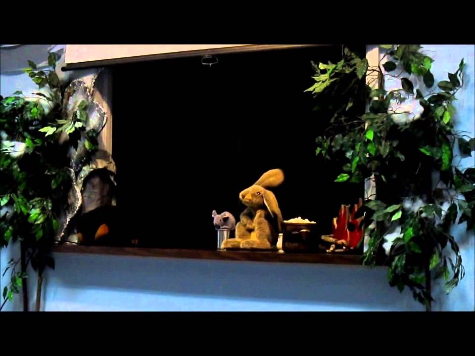 Puppet Show for kids - Bear Snores On