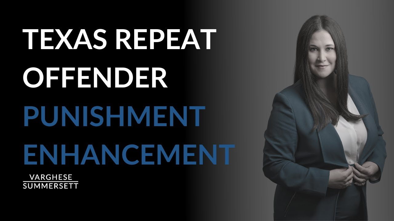 Video: What Is a Repeat Offender Under Texas Criminal Law?