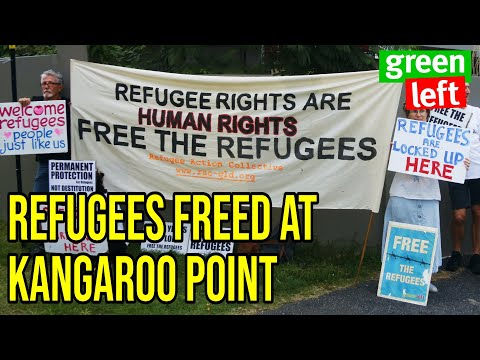 25 refugees freed in Brisbane: Now release the rest!