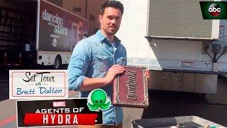 Set Tour with Brett Dalton - Marvel's Agents of S.H.I.E.L.D.